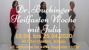 Heilfasten mit Julia April 2020
